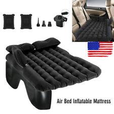 Car Air Bed Inflatable Mattress Sleeping Camping Cushion Back Seat Pad w/ Pump