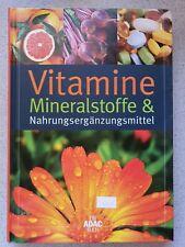 Vitamine, Mineralstoffe & Nahrungsergänzungsmittel / ADAC Buch