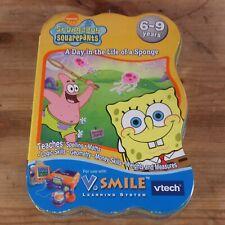 Vtech V. Smile Aprendizaje Juego SPONGEBOB SQUAREPANTS un día en la vida de una esponja