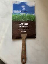 "Harris Down to earth 4""/100mm Paint brush x5 Eco / Recycle / Biodegradable"