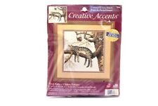 "Creative Accents Cross Stitch Kit Tired Kitty Cat 11"" x 11"""