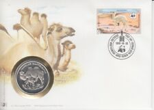 Numisbrief Wwf Mongolia - Zweihöckriges Camel 1985