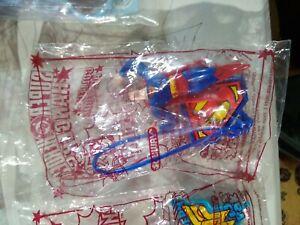 Subway Super Hero Hangers SET 4! Wonder Woman Jet Superman Batman Flash! DC 2002