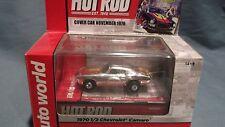 70 1/2 CHEVROLET CAMARO CHROME HOT ROD HO SLOT CAR RACE AW XTRACTION AUTO WORLD