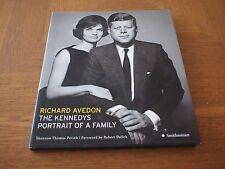 The Kennedys: Portrait of a Family. AVEDON PHOTOBOOK 1ST/1ST HC/DJ DALLEK PERICH