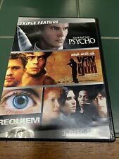 American Psycho / Way of the Gun / Requiem for a Dream Triple Feature Dvd