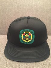 New Vintage Saskatchewan Volunteer Fire Fighters Association Mesh Trucker Hat SK
