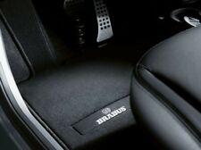 Original Smart Forfour 453 BRABUS Tapis arrière en velours noir coutures argent
