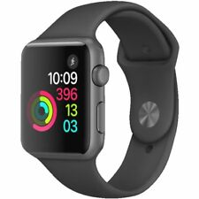 Apple Watch Sport Series 1 MP022LL/A 38mm Case 7000er Schwarz Spacegrau NEU