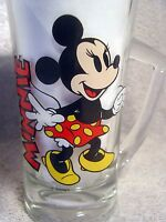 WALT DISNEY VINTAGE 1978 MINNIE GLASS & MINNIE CANDY HOLDER ~ PEPSI COLL. SERIES