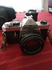 Pentax MX 35mm SLR Film Camera Body With 50mm Lens + 135mm Lens + Bonus!