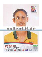 Panini Frauen WM World Cup 2015  - Sticker 285 - Kathryn Gill