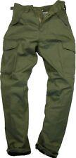 Mens Plain Combat Workwear Multi Pocket Trousers