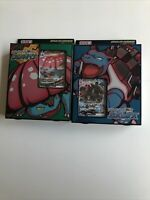 Pokemon Japanese Blastoise And Venusaur Vmax Starter Decks (SHIPS FROM US)