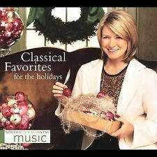 Martha Stewart: Classical Favorites for the Holidays (CD, 2005, Epic, Brand New)