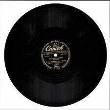 "MAYNARD FERGUSON STAN KENTON Hot Canary / What's New 78rpm 10"" Capitol CL 13611"