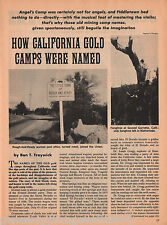 California Gold Camp History+Armour,Bell,Crone,Gregg,Monk,Purigton,Studebaker