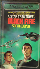 Black Fire No. 8 by Sonni Cooper (1983, Paperback) Star Trek, Space Travel E-100