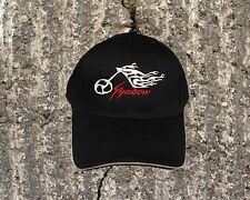 "Honda Shadow ""TATTOO"" Cap/Hat...Sandwich Bill Black and Khaki  CP85"