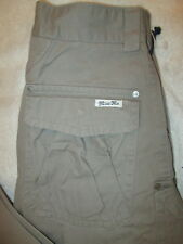 Miss Me Khaki Flap Pockets Womens Cargo Pant Size 25 x 30.5 CP1242 New