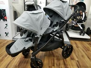 Baby Jogger City Select LUX Double Stroller in Slate New! See Details!