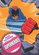 How to Draw Superheroes by Andy Fish (2011, Spiral)