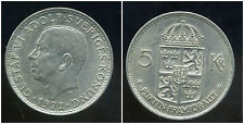SUEDE  5 kronor 1972