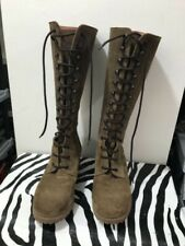 JCrew ladies size 8 adorable lace up tall boots