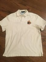 Vintage Polo Ralph Lauren Rugby PRL Sailing Shirt L Large P-wing 92 93 Cut Off