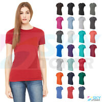 New! Bella + Canvas Women's The Favorite Tee Short Sleeve Crewneck T-Shirt 6004