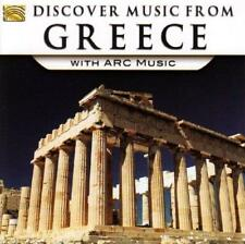 Discover Music From Greece With Arc Music - Various Artists (NEW CD)