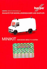 HERPA MiniKit 1:87 Transp. Mercedes-Benz T2 Kasten weiß Bausatz #013482 NEU/OVP