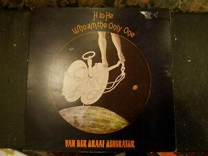 VAN DER GRAAF GENERATOR H TO HE AM THE ONLY ONE U.K. LP