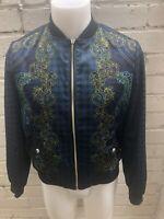 Versace Jeans Baroque Bomber Jacket. IT 42