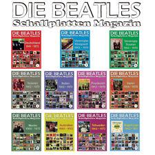 11 x Die Beatles Schallplatten Magazin - Deutschland, Vereinigtes Königreich...