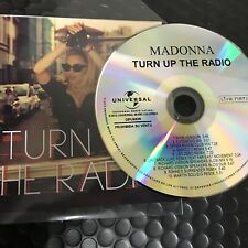 "Madonna ""Turn up The Radio : Remixes"" 10 Track New Cd Promo"