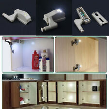 LED Sensor Light For Cupboard Cabinet Closet Wardrobe Door Inner Hinge Kitchen