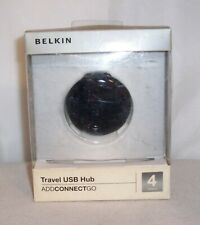 Belkin travel USB 2.0 connection hub to your laptop computer on the go