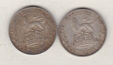More details for two 1902 & 1906 edward vii shillings in very fine condition