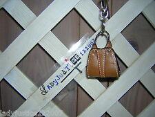 Leather Keychain Women Bag Accessory Handbag Key Ring