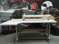 DCR 1000LA FLAT BED ULTRA LONG ARM SINGLE NEEDLE LOCKSTITCH HEAVY DUTY