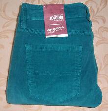 NWT 0 ARIZONA Super Skinny STRETCH CORDUROY LEGGING PANTS JEANS ~ RICH TEAL $56