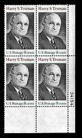 US 1973 Sc# 1499 8 c Harry Truman Mint NH Set of 4