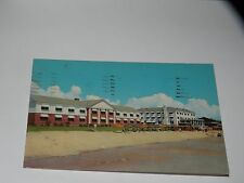 Vintage Postcard New Patricia Hotel Motor Court Myrtle Beach Sc Chrome 1958