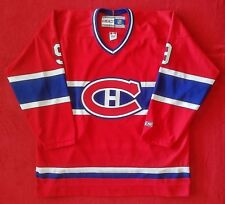 Maurice Richard Autographed - Career Jersey - CCM - Montreal Canadiens - Rare