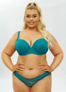 Ann Summers The Entity Fuller Support Bra - Teal - Sizes 32DD - 40G