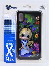 Disney Alice Wonderland & Cheshire Cat Apple Iphone XS Max Cellphone Case NEW