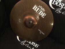 "Paiste Rude 19"" Wild Crash Cymbal"