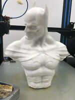 BATMAN Bust Unpainted LOOK! Awesome! LARGE 8x8
