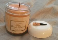 "NEW Camille Beckman "" THE CANDLE""  scent Orange Creme 4 oz"